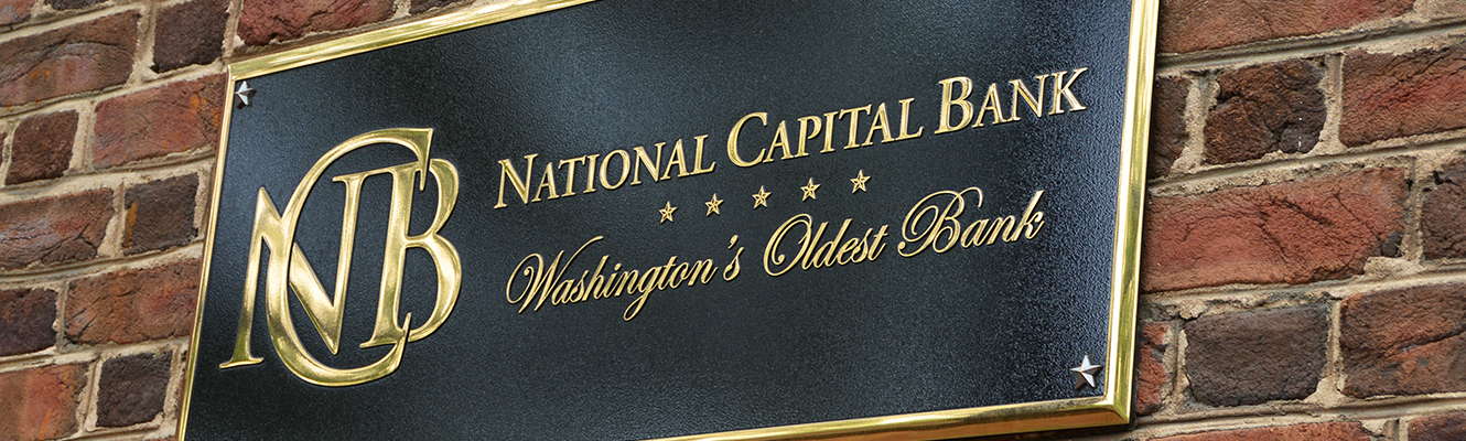 National Capital Bank Outdoor Building Sign