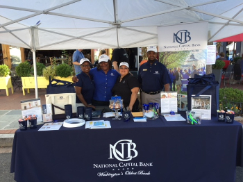 NCB Team at Barracks Row Main Street Fall Festival 2018